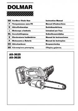 Dolmar AS-3625